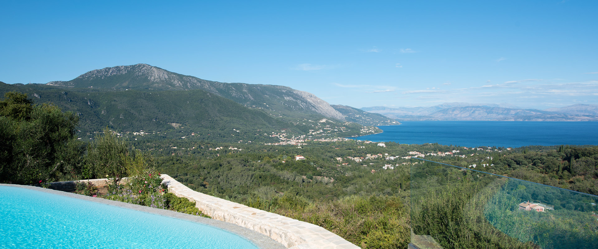 Spectacular views of the Ionian Sea