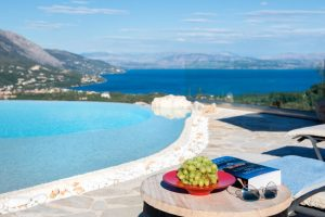 Villa corfu with private pool